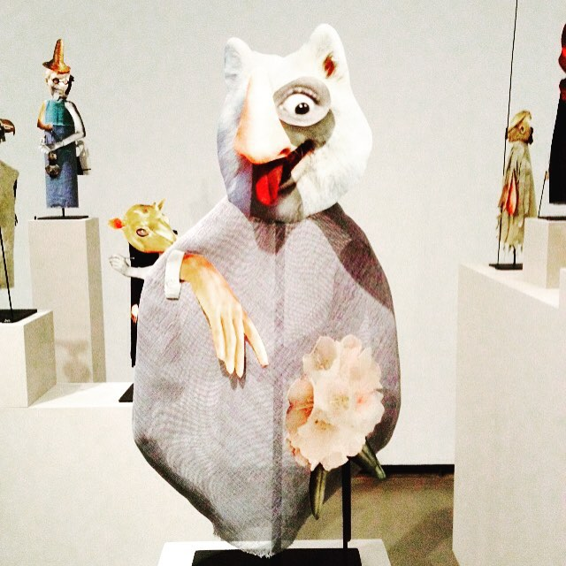 Possibly, the funniest creature @vanartgallery #geoffreyfarmer exhibit. How Do I Fit This Ghost in My Mouth? http://www.vanartgallery.bc.ca/the_exhibitions/exhibit_farmer.html