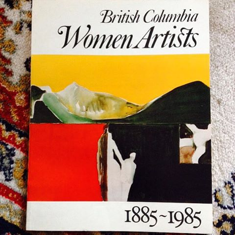 I love art book gifts! British Columbia Women Artists 18851985hellip