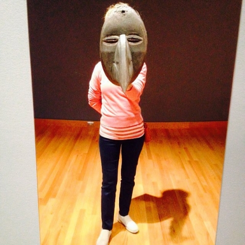 Bird Mask Liberian seattleartmuseum seattle carollyneyardley carollyne