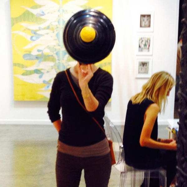 The Plunger Face @gallery16 #seattleartfair #art #carollyne #carollyneyardley