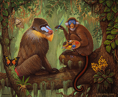 Apes Art Inc. - art preserving endangered species