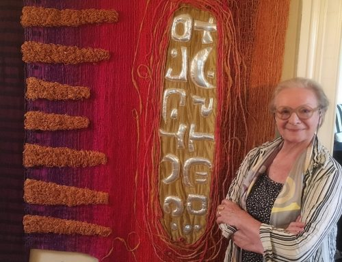 Studio visit with textile artist Carole Sabiston
