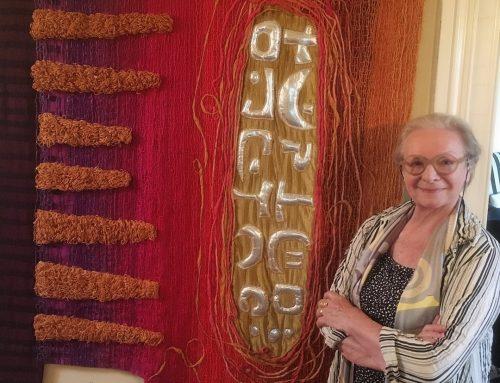 Studio visit with textile artist Carole Sabiston