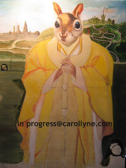 Saint Squirrel - in progress