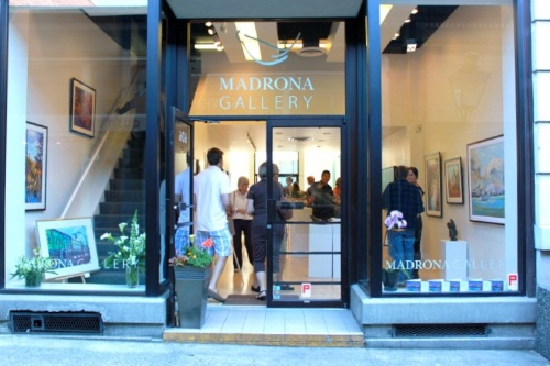 Image from www.madronagallery.com | Front Entrance of Madrona Gallery | View Street