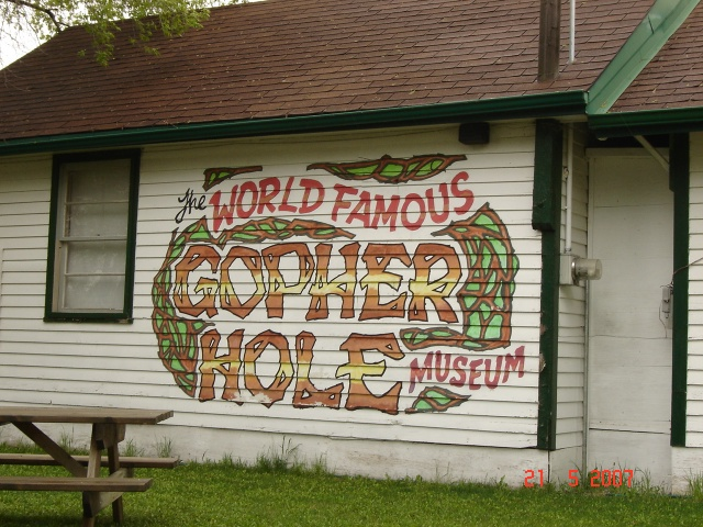 The World Famous Gopher Hole Musuem