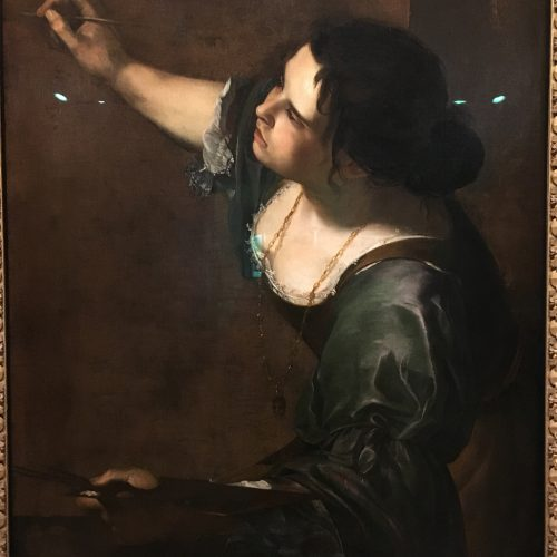 Artemisia Gentileschi Self Portrait as the Allegory of a Paintinghellip