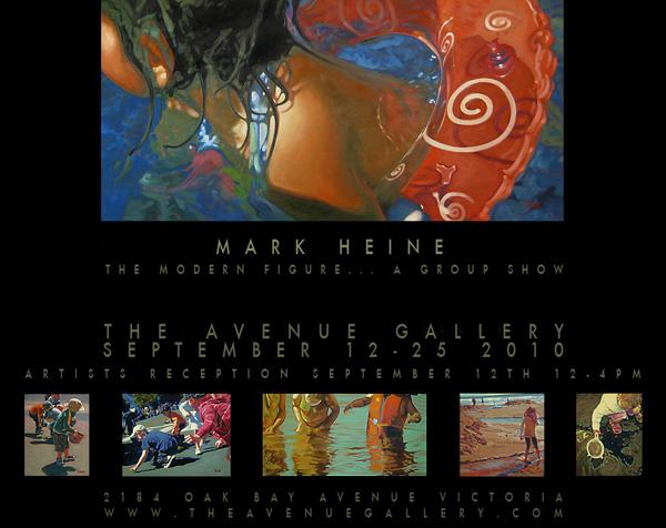 Mark Heine: The Modern Figure, A Group Show
