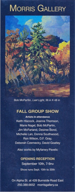 Morris Galley Fall Group Show Sept 2010