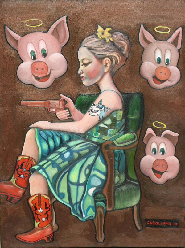 Dreaming of the Three Little Pigs