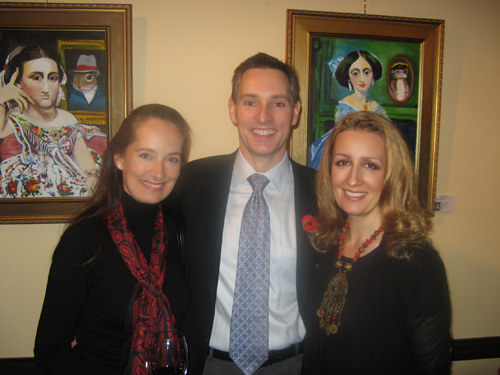 Dr. Jonathan Adam, Pauline Morrison, Carollyne Yardley