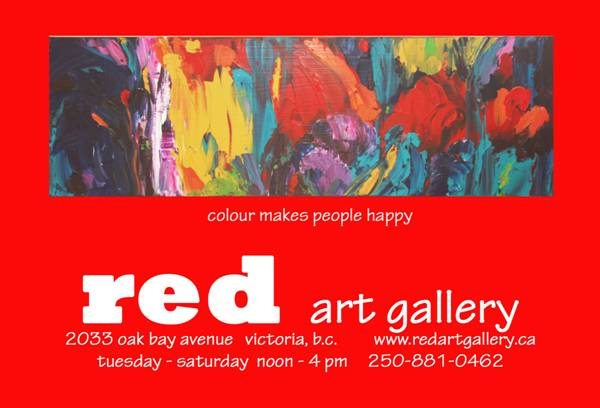 Red Art Gallery, Oak Bay Avenue, Victoria, BC