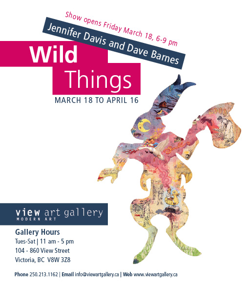 Wild Things, View Art Gallery, Victoria, BC