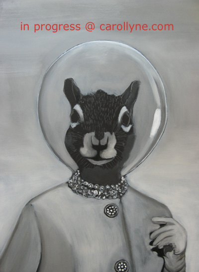 Space Hat Squirrel