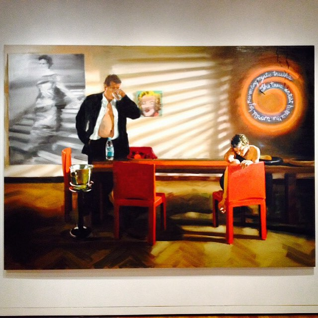 Eric Fischl @seattleartmuseum #seattle #art