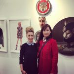 Victoria unite! With @iconiccanuck @art_toronto #arttoronto #arttoronto2016 #brandysaturley