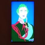 The Great Duke after Sir Thomas Lawrence. Michael Craig-Martin RA, 2014. Computer line drawing