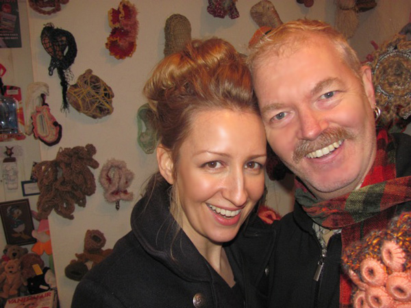 Carollyne Yardley and Dale Roberts