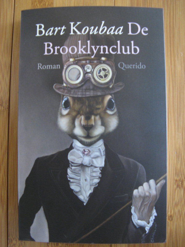 Bart Koubaa, De Brooklynclub - cover art by Carollyne Yardley
