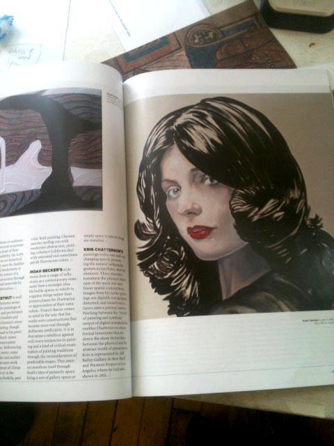 Love in Black by Noah Becker, From NY Arts Magazine, 30 Artists To Watch in 2012
