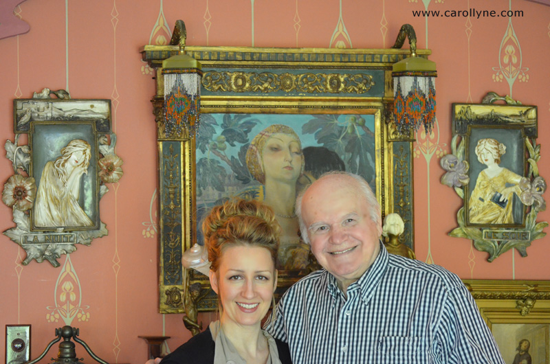 Carollyne Yardley and Ernest Marza (home and studio visit, May 14, 2012)