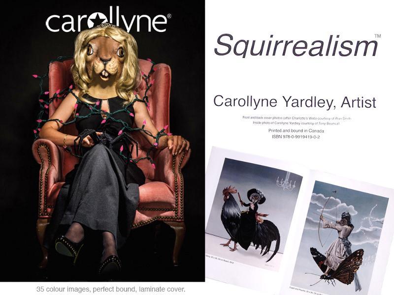 Squirrealism: Carollyne Yardley Artist