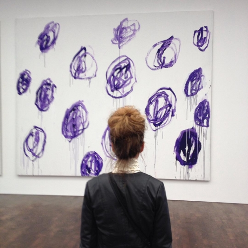 Cy Twombly and the Bun Anus