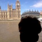 Big Ben and Big Bun Silhouette. Photo by Lucy Barwin, July 2014.