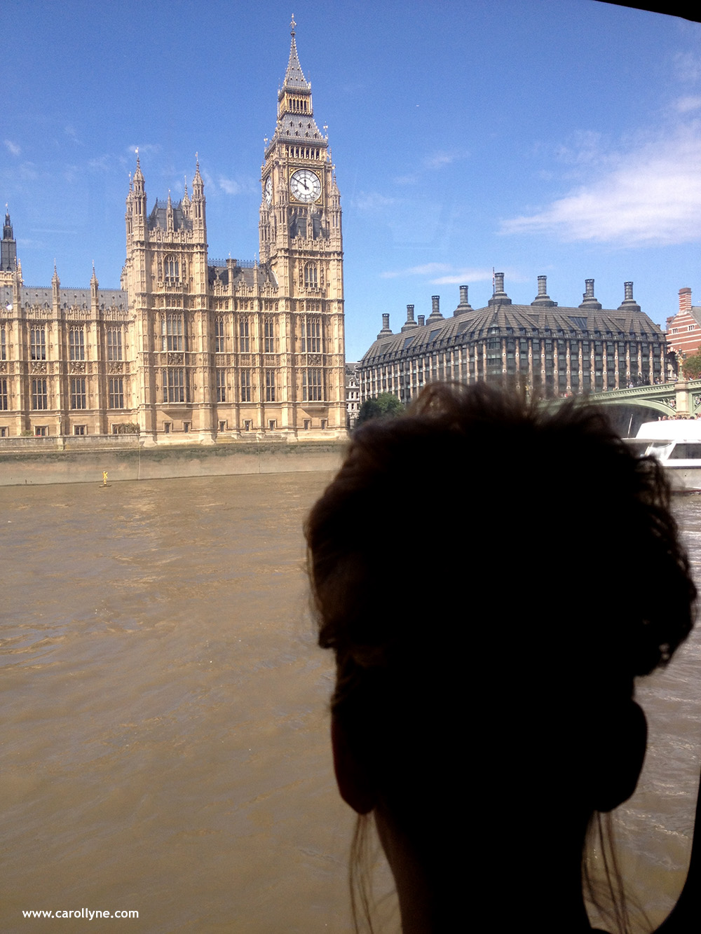 Big Ben and Big Bun Silhouette. Photo by Lucy Barwin, July 2014.