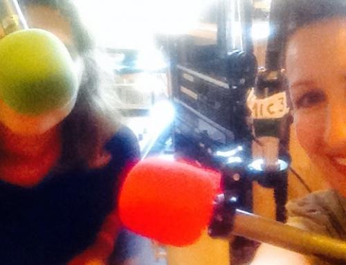 Paroles d'artists at the Francophone Radio Station of Victoria CILS.FM 107.9