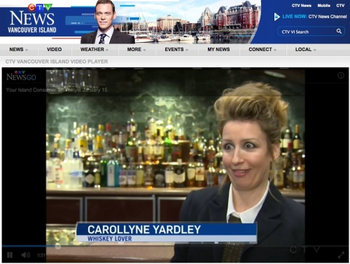 Screen Capture CTV News Whisky Festival 2015