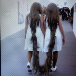 Caught on other camera, probably not same girls from 1987? Tunga, Xifopagas Capilares (Siamese Hair Twins), 1987 #friezelondon