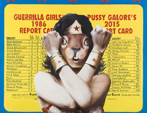 Guerrilla Squirrel: Guerrilla Girls, Pussy Galore, Wonder Woman, and Gloria Steinem