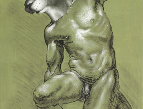 Male Figure Drawing Squirrel: What If You Couldn't 'Cause You're A Girl?
