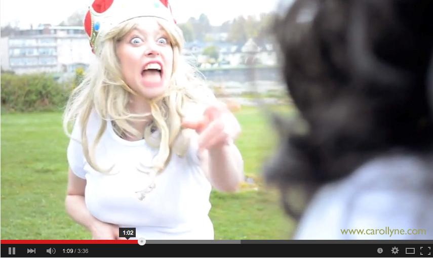 Trademark Carollyne. Film still, 1.02 mins. 2014