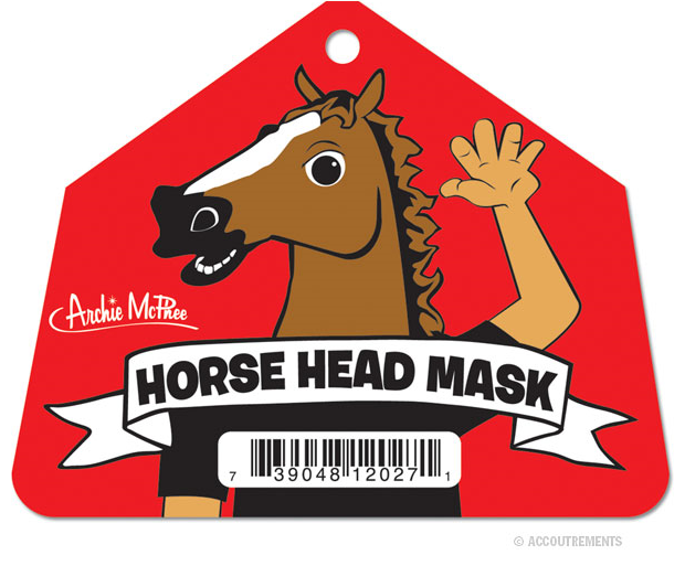 Original Horse Head Mask by Archie McPhee