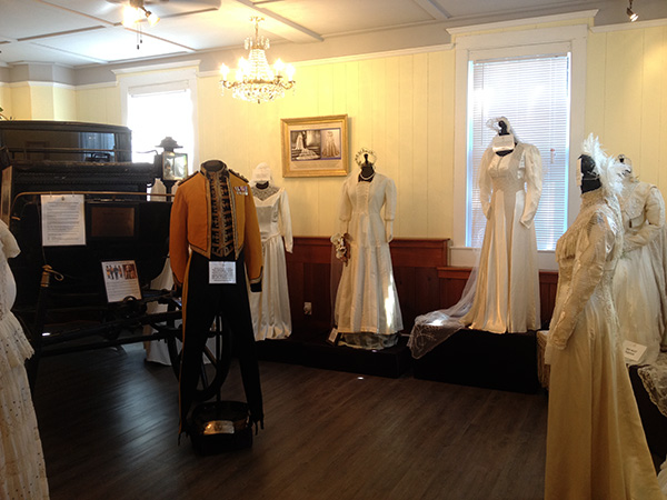 The Cary Mews Costume Museum at Government House.