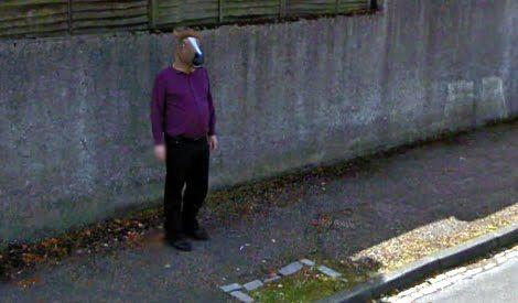 Horse Boy on Google Maps