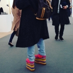 Irresponsible shoes, see previous post. #friezelondon