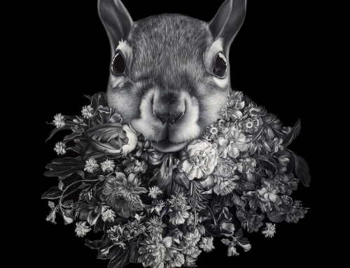 Flower Beard meme + Why do historical paintings have so many squirrels in them?