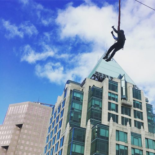 And I thought my day was going well zipline yvr