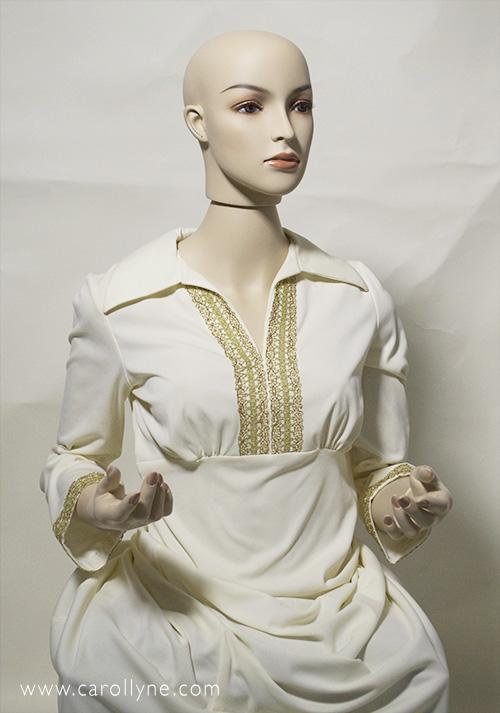 Carollyne's mannequin