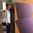 Studio visit with Michael Morris (photo by Noah Becker).