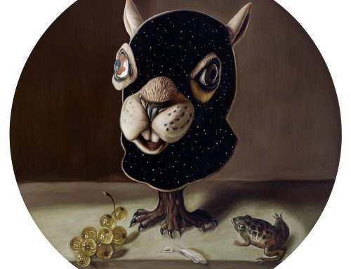 Still Life Squirrel Mask