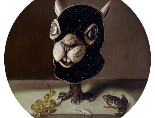 Still Life Squirrel Mask