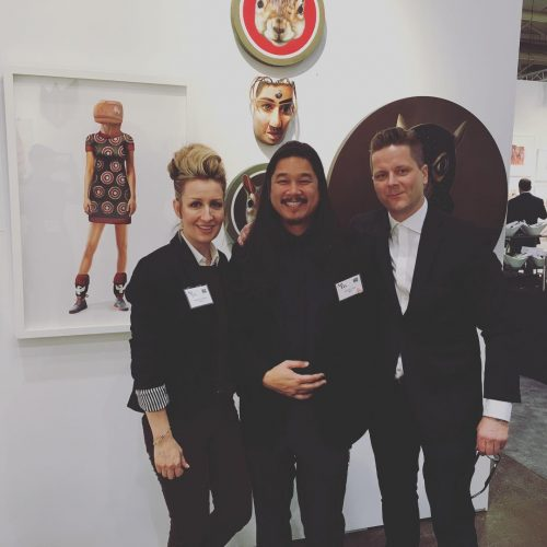 with brendantang and Roman arttoronto fazakasgallery Booth C 83 Octhellip