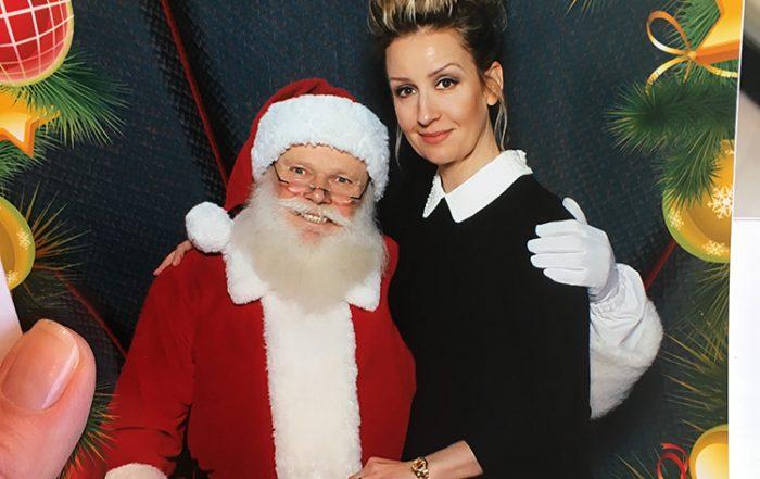 Me and Santa, Hillside Mall, Dec 2016