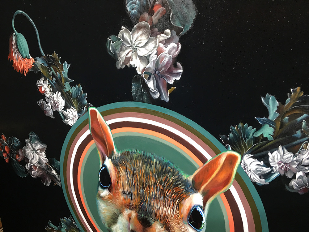 Sun Squirrel, detail