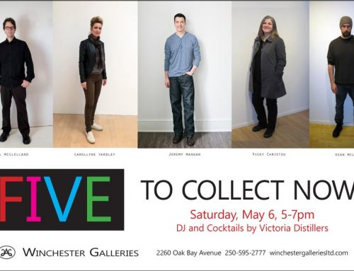 Five: An exhibition of contemporary art from Vicky Christou, Jeremy Mangan, Neil McClelland, Sean Mills and Carollyne Yardley | Winchester Galleries, May 2 to 27, 2017