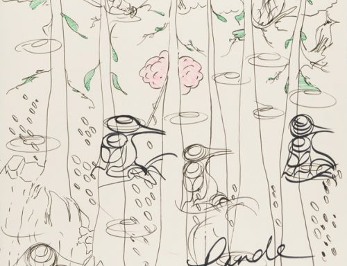 Works on Paper: Collaborations with Rande Cook and Noah Becker